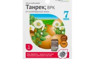 Танрек от колорадского жука — описание, действие, эффективность, инструкция по применению