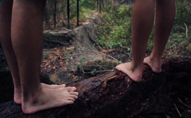 Ноги на дереве