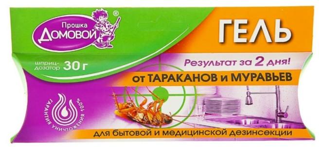 Гель Домовой от тараканов