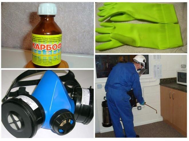 Карбофос травля тараканов