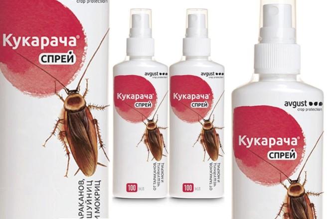 Кукарача от тараканов