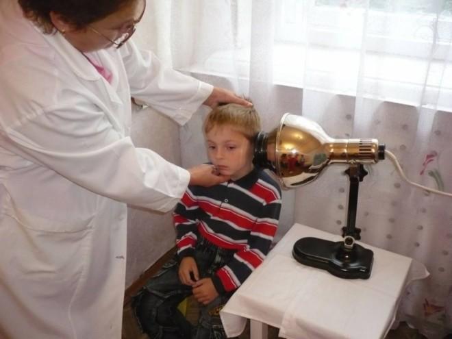 Лечение ухо