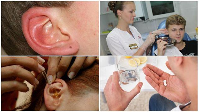 Ушной клещ у человека - лечение