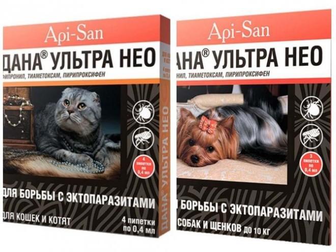 Дана Ульра Нео капли для кошек