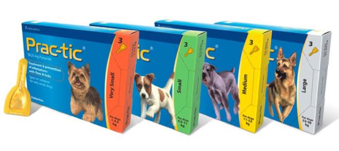 Практик от клещей для разных собак