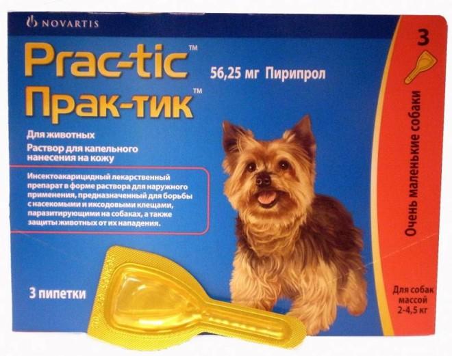 Практик от клещей для собак