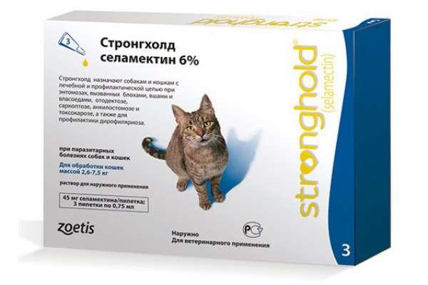 Стронгхолд капли для кошек