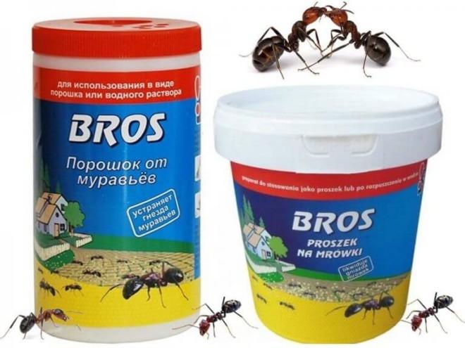 Средство от муравьев bros
