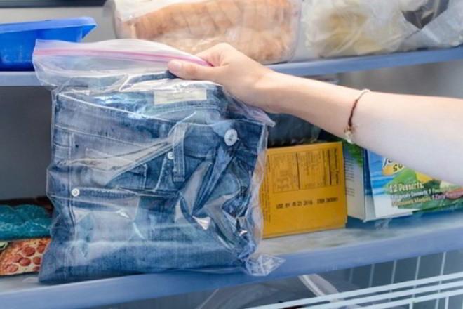 Одежда в холодильнике