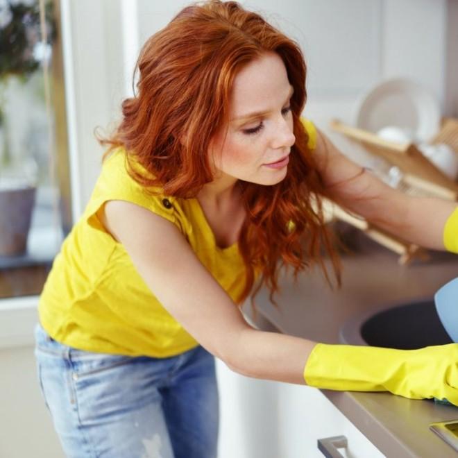 Уборка на кухни